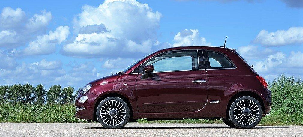 Fiat 500 Pop Benzina Noleggio Lungo Termine - Noleggio e Via