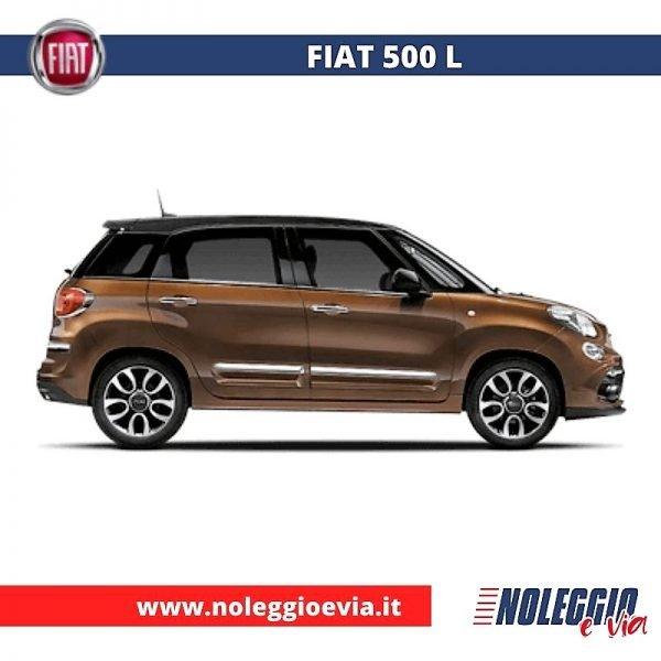 Fiat 500L Noleggio Lungo Termine, noleggio e via