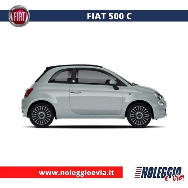 Fiat 500c Noleggio Lungo Termine, noleggio e via
