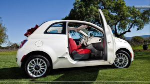 Fiat 500c noleggio lungo termine - noleggio e via - campagna