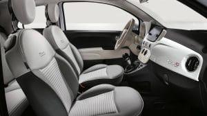 Fiat 500c noleggio lungo termine - noleggio e via - interni