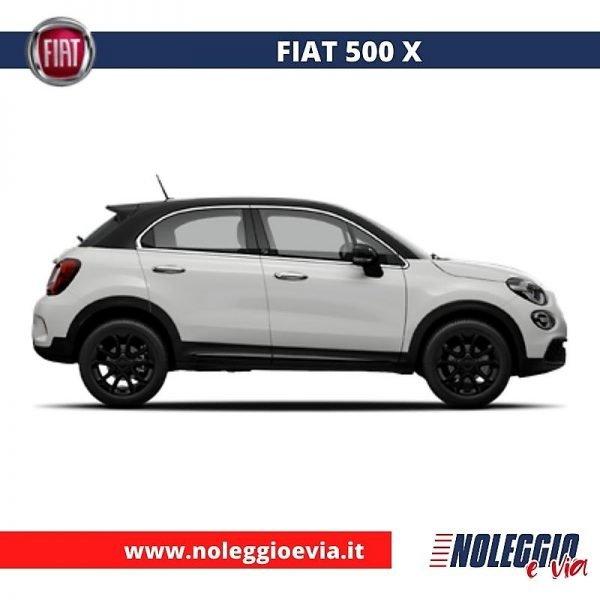 Fiat 500x Noleggio Lungo Termine, noleggio e via