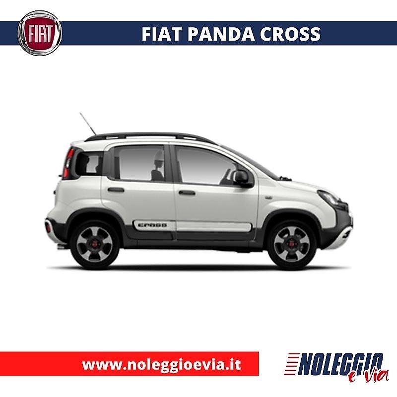 Fiat Panda Cross Noleggio Lungo Termine, noleggio e via