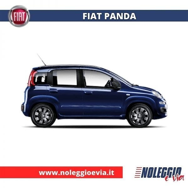 Fiat Panda Noleggio Lungo Termine, noleggio e via