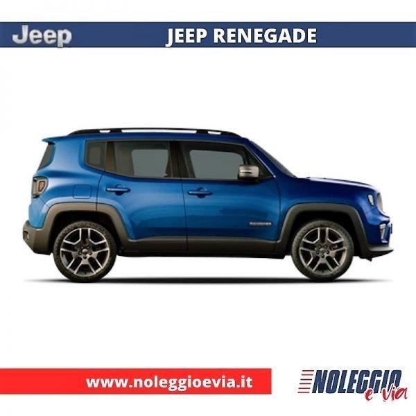 Jeep Renegade Noleggio Lungo Termine, noleggio e via