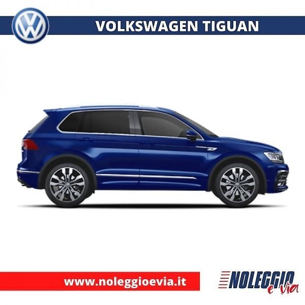 Volkswagen tiguan noleggio lungo termine, noleggio e via