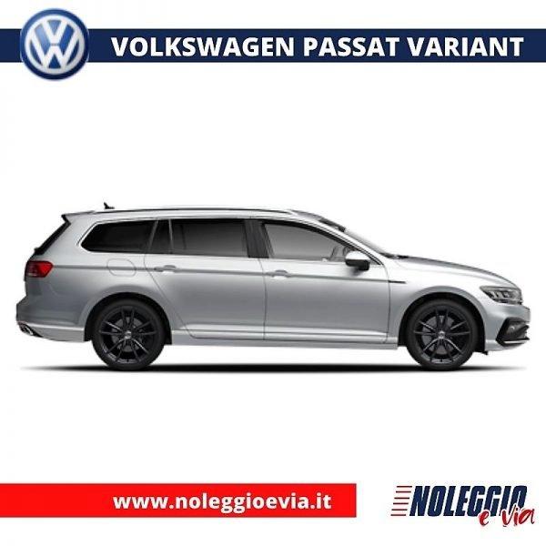 volkswagen passat variant noleggio lungo termine, noleggio e via