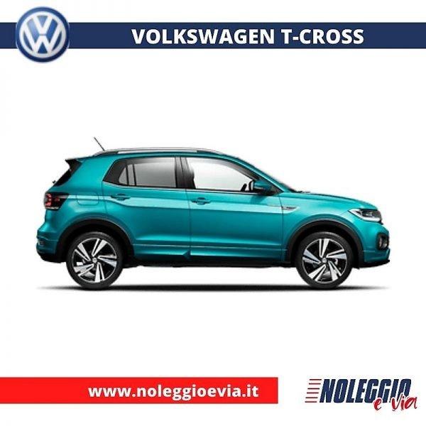 volkswagen tcross noleggio lungo termine noleggio e via
