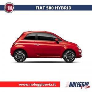 Fiat 500 hybrid Noleggio Lungo Termine, noleggio e via