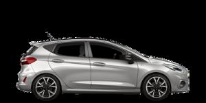 Ford Fiesta noleggio lungo termine noleggio e via side
