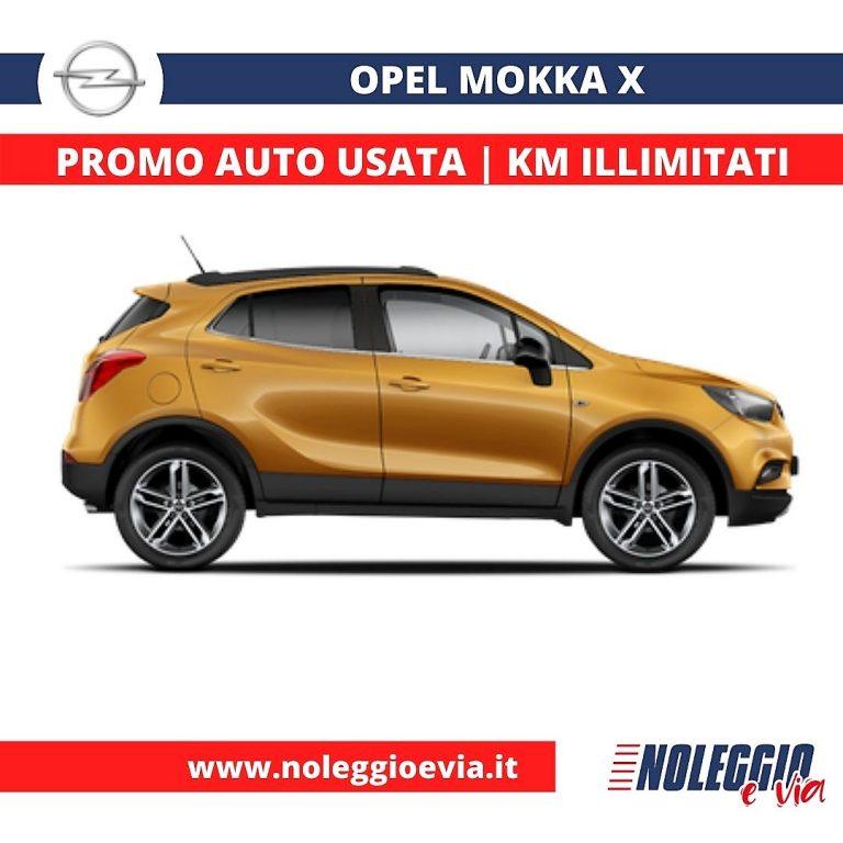 Opel Mokka X noleggio lungo termine, noleggio e via