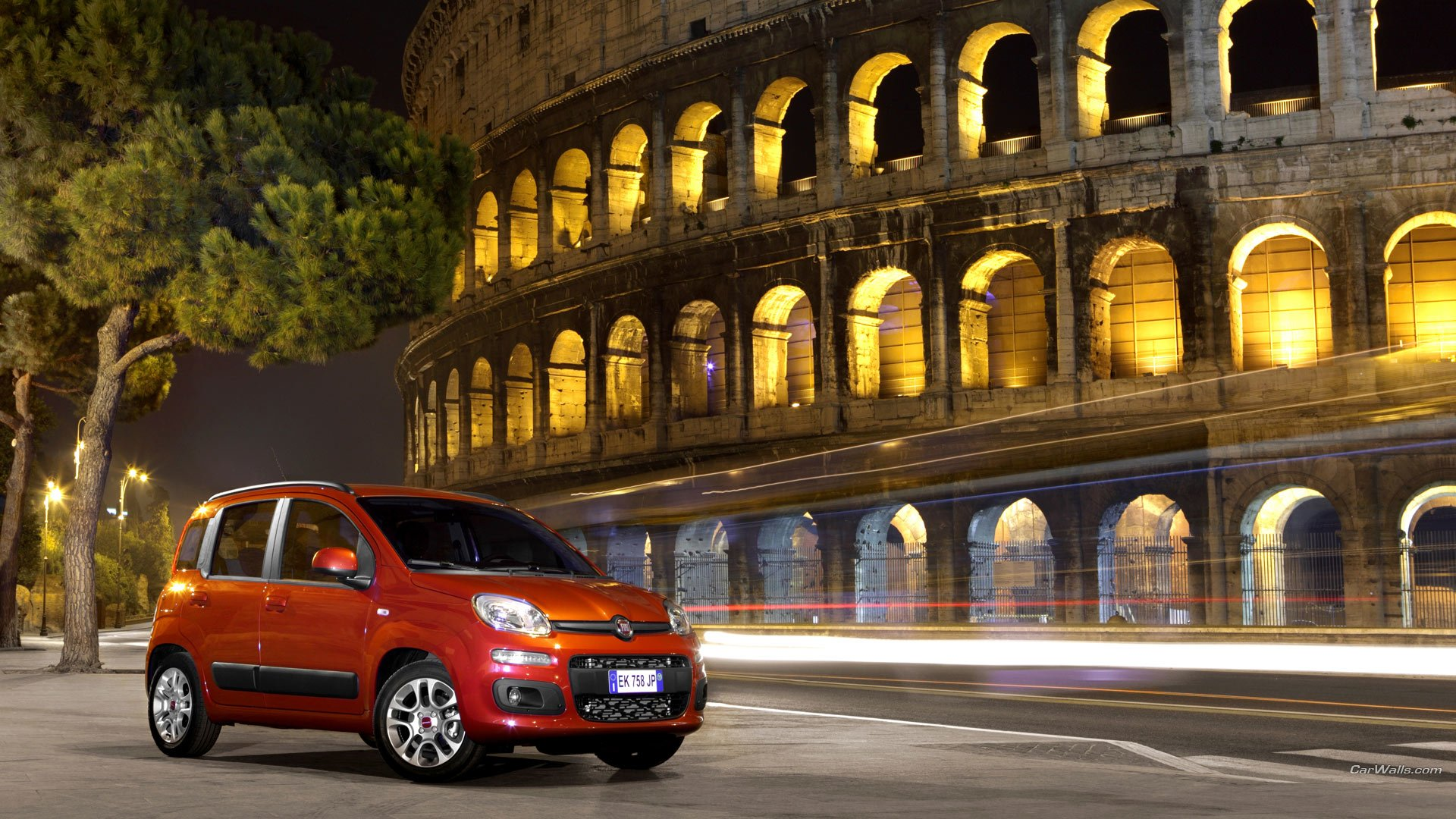 Noleggio Fiat Panda a Lungo termine - Roma