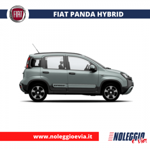 Fiat Panda Hybrid noleggio lungo termine, noleggio medio termine, anche senza anticipo, noleggio e via