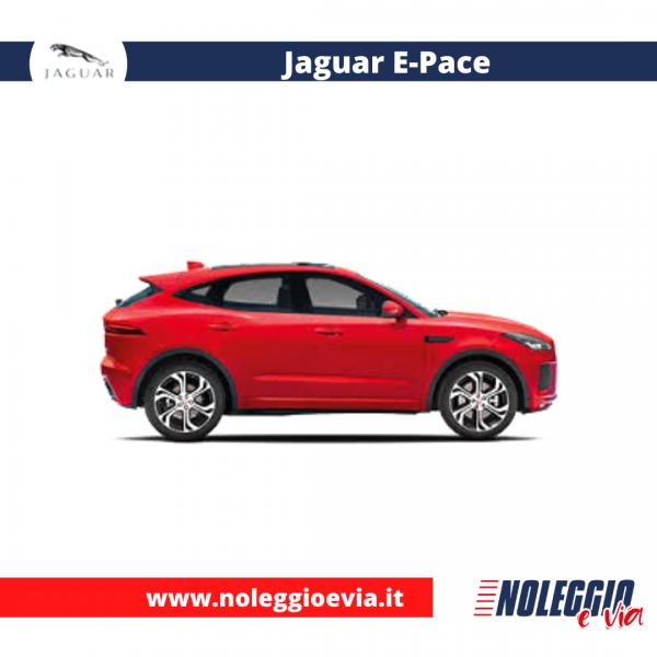 Jaguar E-Pace noleggio lungo termine, noleggio e via