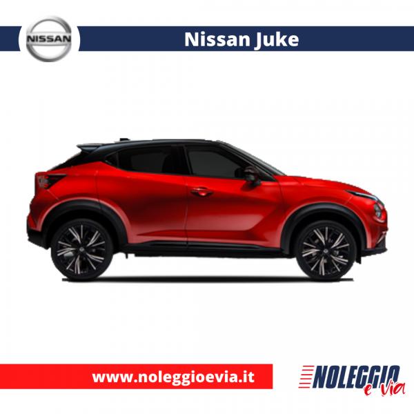 Nissan Juke noleggio lungo termine, noleggio e via