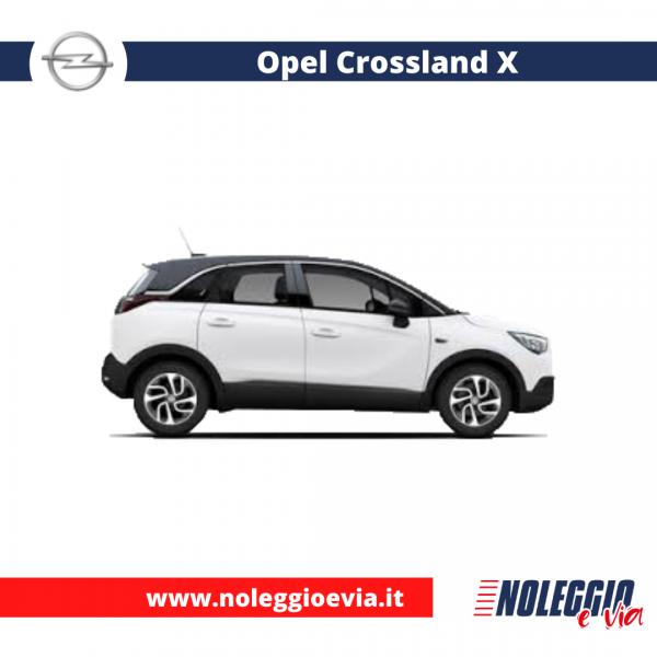 Opel Crossland X noleggio lungo termine, noleggio e via